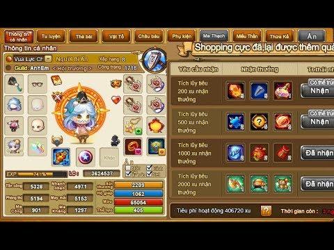 Part 3 đua Top 1 Gà Mới Gunny Zing đã Tiêu 400.000 Xu - Đức Anh Gunny