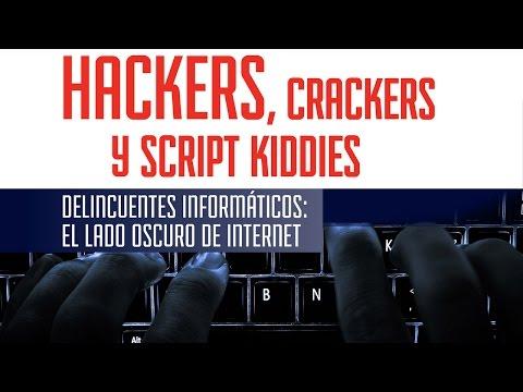 Hackers, crackers y script kiddies