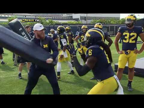 Jay Harbaugh Michigan Running Backs Coach Interview