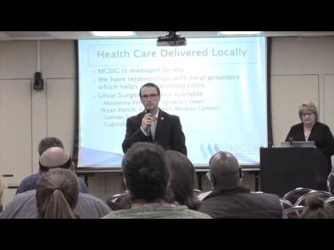 MCSIG Health Care Benefits Information Presentation - Part One