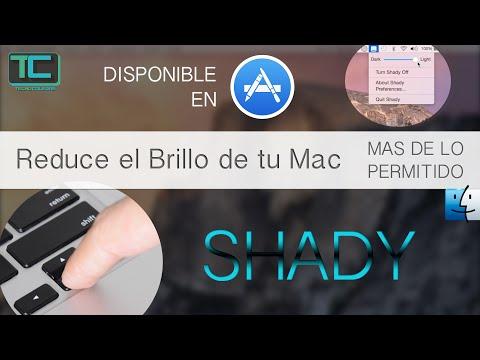 Reduce el brillo de tu MAC más de lo permitido (Shady)