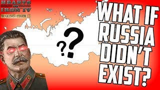What if Russia Didn't Exist? Hearts of Iron 4 HOI4 Gameplay