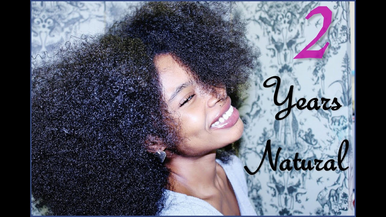 Natural Hair  Year Growth