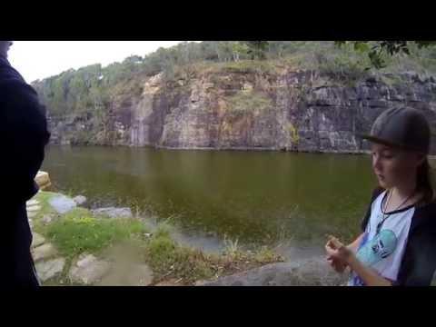 Australia: Angourie Blue Pool w/ Locals