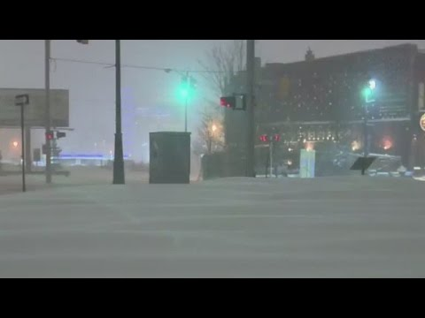 Northeast being pounded by third winter storm