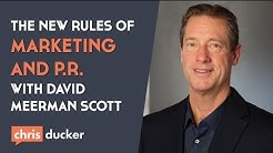 New Rules of Marketing and PR author, David Meerman Scott on the VBL Podcast!