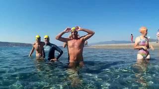 Traversata a nuoto dello Stretto di Messina del 01/08/2017