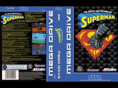 Death And Return Of Superman - Sega Megadrive / Genesis
