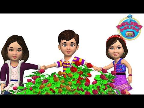 Ringa Ringa Roses Song with Lyrics | Nursery Rhymes Songs for Children | Kids Songs | Mum Mum TV