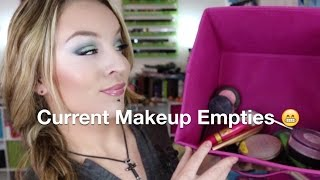 Current Makeup Empties January 2015 Thumbnail
