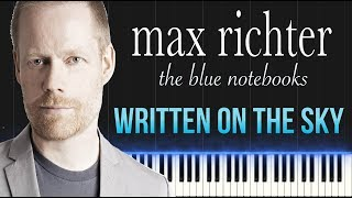 Max Richter - Written On The Sky (Piano Tutorial Synthesia)