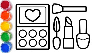 Drawing Makeup for kids Bolalar uchun pardoz rasm chizish Рисунок Макияж для детей