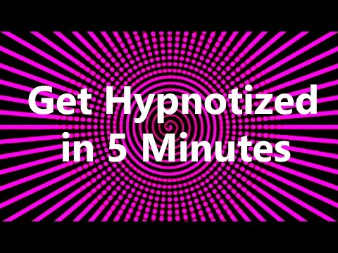 Get Hypnotized in 5 Minutes