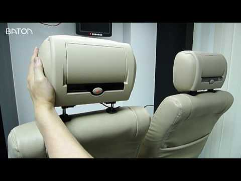 BATON Universal Headrest Monitor Installation