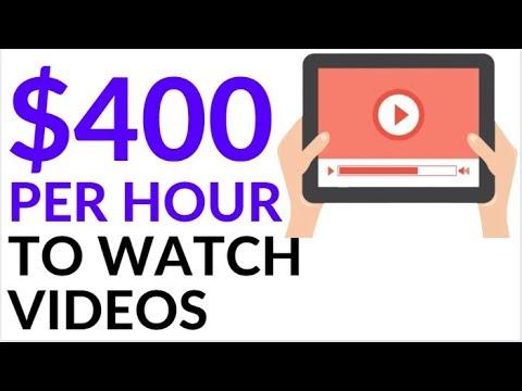 Make Money Online WATCHING VIDEOS! (2020)