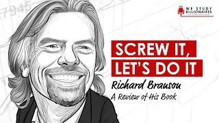 40 TIP Billionaire Richard Branson Screw It Let S Do It Business And Entrepreneurship