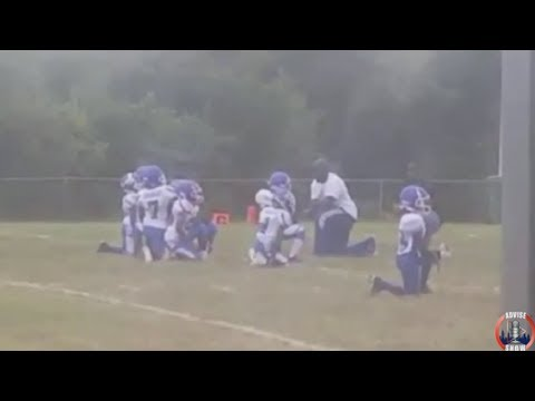 Cahokia Quarterback Club Kneel During Anthem To Support Black Victims Of Police Violence