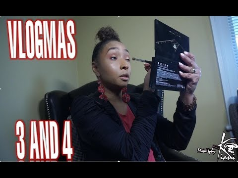 Vlogmas 3 and 4: Suburbia Life, Testing New Makeup , OOTD,  Dental Visit