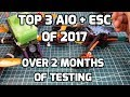 Best 3 AIO Flight Controllers with ESCs of 2017  // My Top Choice