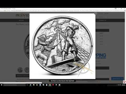 """New Silver Privateer Round """"The Plank"""" Just Released!"""