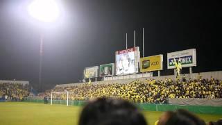 【祝】柏レイソル優勝! 日立柏サッカー場で行われた優勝報告会 北嶋秀朗.