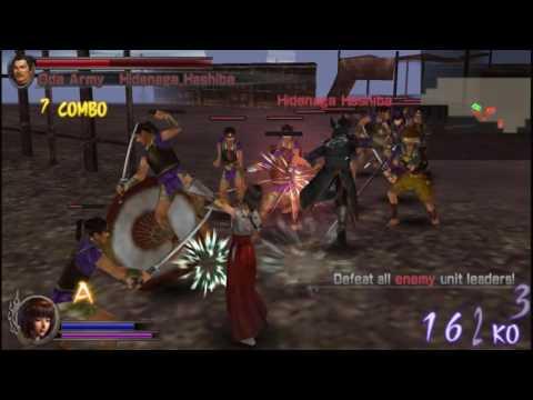 Samurai Warriors: State of War - Okuni Stage 1 - Renegade Resistance