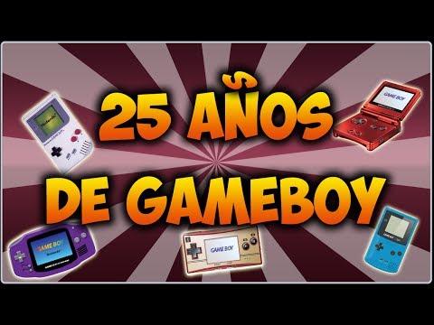 25 AÑOS DE GAMEBOY