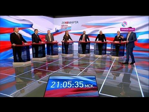 8 ứng cử viên Tổng thống Nga và chương trình tranh cử