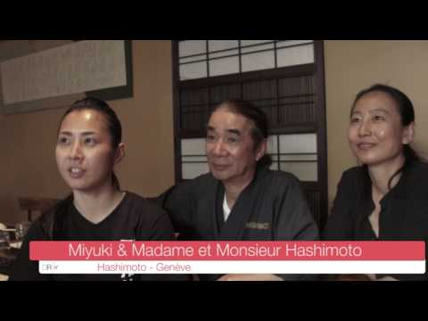 Digital Romandie - Vidéo Témoignage du Restaurant Hashimoto à Genève