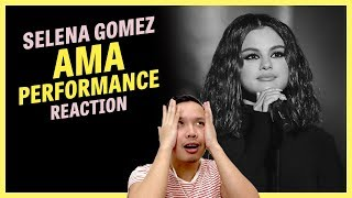 REACTION: Selena Gomez — AMAs Performance (Lose You To Love Me & Look At Her Now)