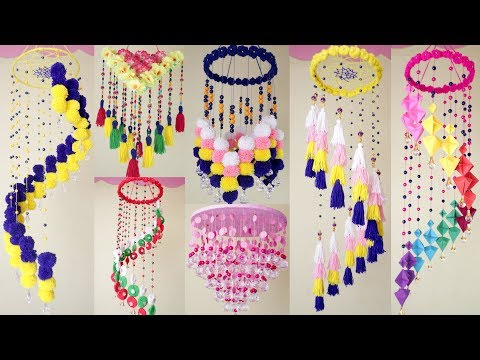 8 Beautiful Wall Hanging Ideas !! DIY HandMade Things