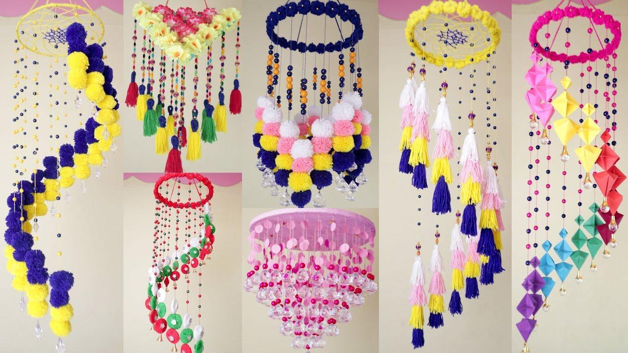 8 Beautiful Wall Hanging Ideas !! DIY HandMade Things ...