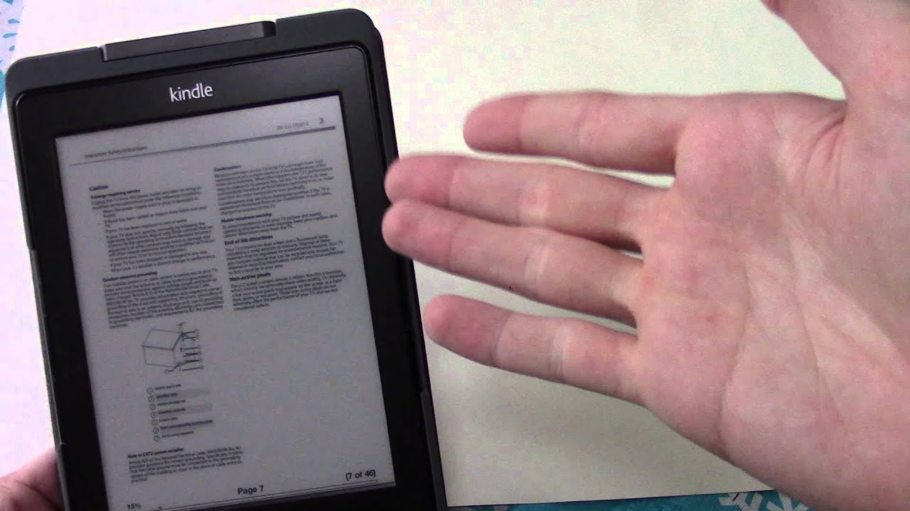 kindle 5th generation lighted case youtube