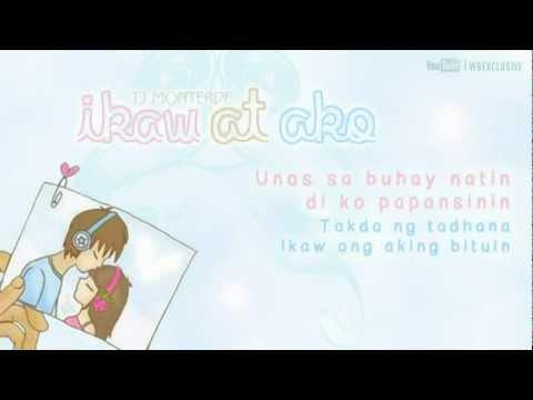 Tj Monterde Ikaw At Ako Lyrics Video