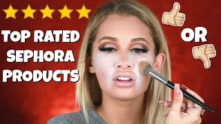 TESTING TOP RATED SEPHORA PRODUCTS