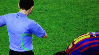 Barcelona V Chelsea HD 24/04/2012 Messi Penalty MISS
