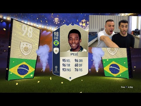 20 ICON GARANTITE! NON HO PAROLEEEE!! | PACK OPENING FIFA 18 [ITA]