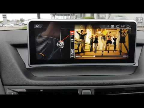 Installation Oem fit navigation and backup camera BMW X1 and
