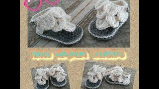 Tutorial How to Crochet Crocodile Baby Sandals  By,  Havoc Mayhem Creations