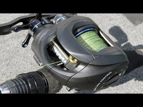 The Proper Way To Spool Braided Line On Baitcast Reels | Bass Fishing