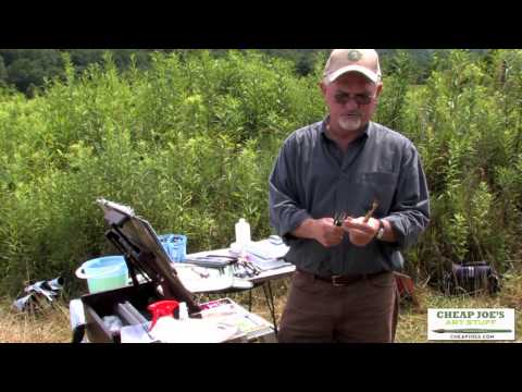 Plein Air Painting With Frank Francese - A Color Sketch Of The Plein Air Scene (Part4)
