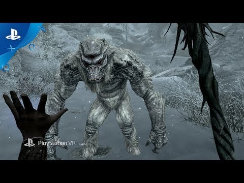 The Elder Scrolls V: Skyrim VR – PlayStation VR Gameplay Trailer | E3 2017