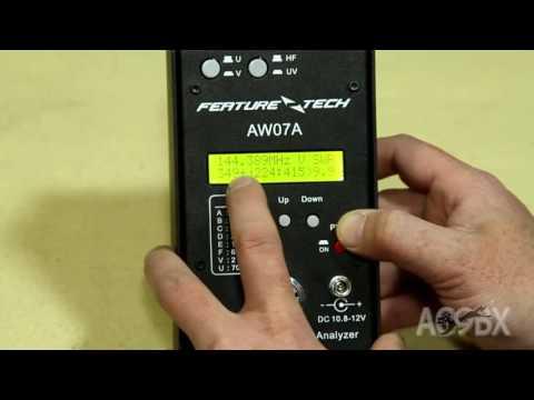 AW07A antenna analyzer