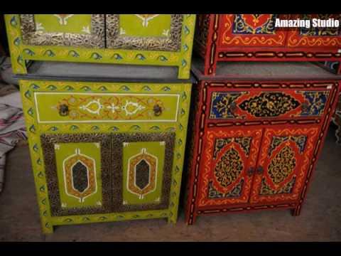 Möbel Bunt marokkanische möbel bunte schränke