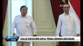 Koalisi Jokowi Beri Sinyal Terima Gerindra Bergabung
