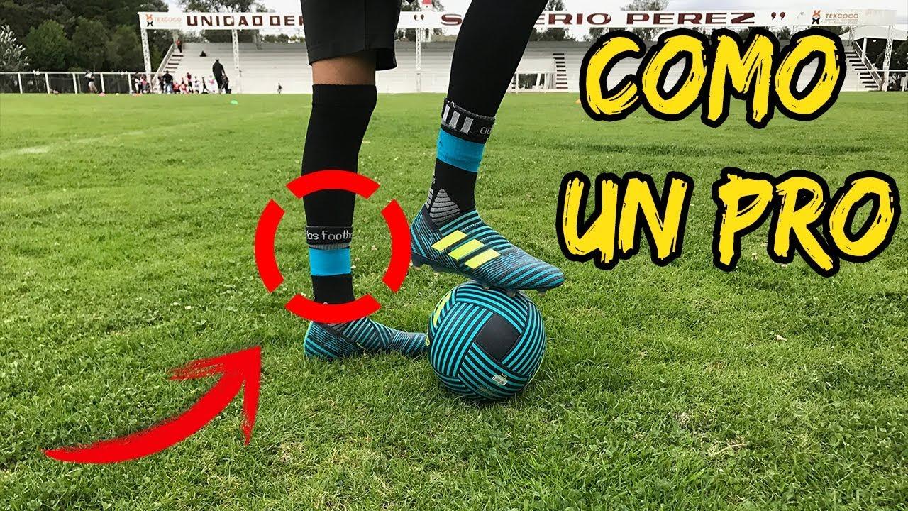 Como Usar Calcetas De Fútbol Como Profesional Muy Fácil Código Fútbol Youtube