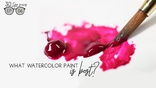 Watercolor Paint: Which One Is Best? (Beginner's Series Ep. #06)
