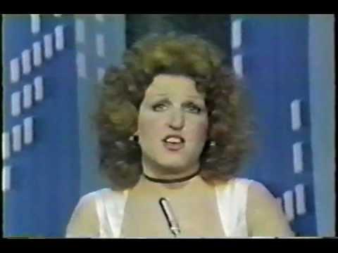 Bette Midler 1974 Tony Awards