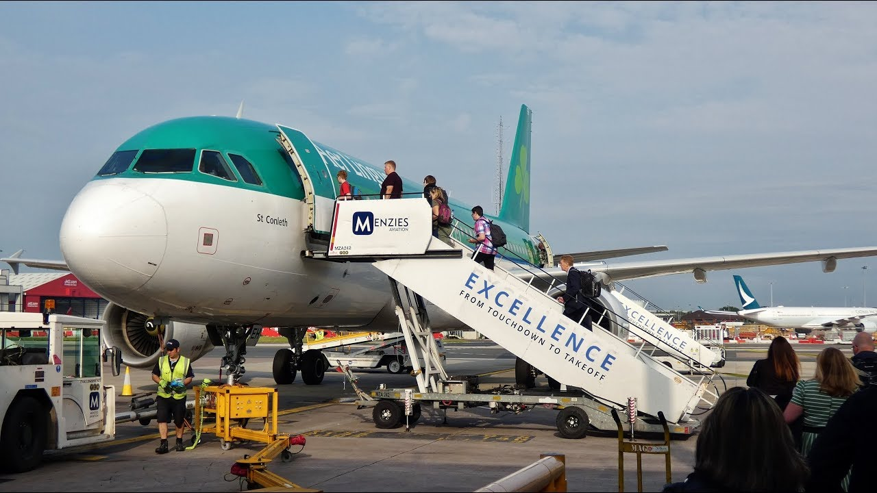 Aer Lingus Airbus A320 214 Manchester To Dublin Full
