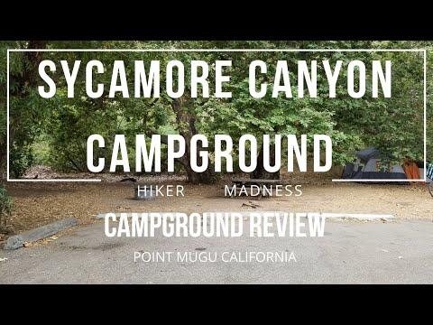 Sycamore Canyon Campground Review Point Mugu California